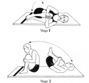Morning Stretching Program - Jhulana Lurhakanasana