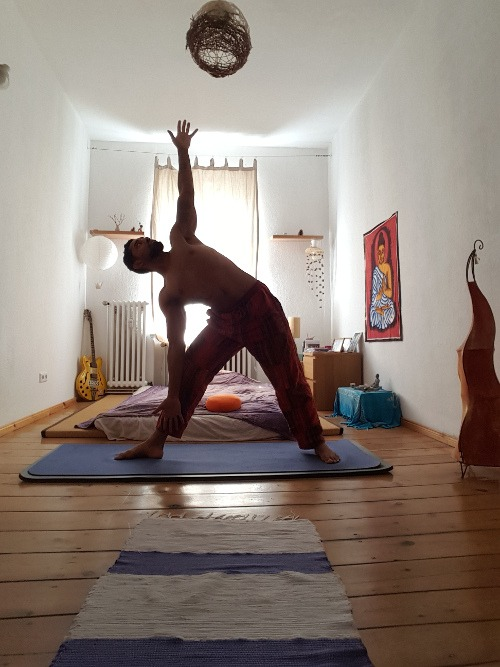 Morning Yoga in Berlin Neukölln